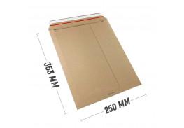Курьер-пакет В4 250х353 мм из бурого картона 400 гр./м2