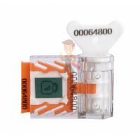 Роторная пломба Ротор-1 - Пломба номерная Старт антимагнит, оранжевая