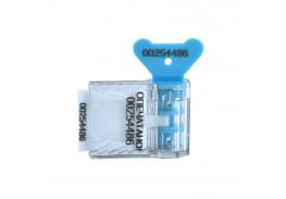Пломба пластиковая номерная Старт, синий