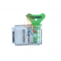 Роторная пломба Ротор-1 - Пломба пластиковая номерная Старт, зеленый