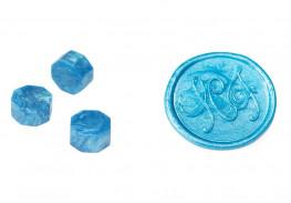 Сургуч в гранулах, синий