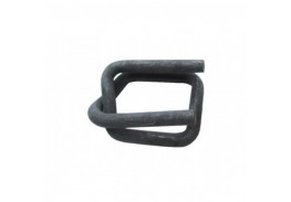 Пряжка проволочная 13мм. стальная черная для 12мм ленты (1000шт.)