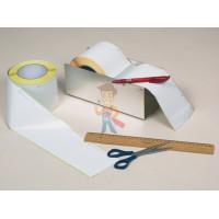 Пломба наклейка номерная НН-2, 22х66 мм - Лента Burkle Close-it tape 95 мм (50 м)