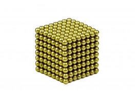 Forceberg Cube - куб из магнитных шариков 2,5 мм, оливковый, 512 элементов