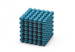 Forceberg Cube - куб из магнитных шариков 5 мм, бирюзовый, 216 элементов