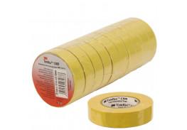 Набор изолент TEMFLEX 1300 универсальная жёлтая, рулон 19 мм x 20 м 10 шт