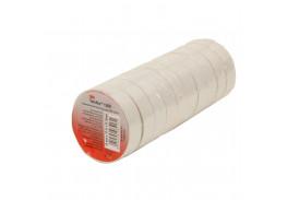 Набор изолент TEMFLEX 1300 универсальная белая, рулон 15мм x 10м 10 шт.