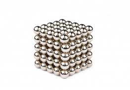 Forceberg Cube - Куб из магнитных шариков 10 мм, стальной, 125 элементов