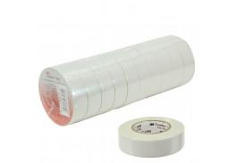 Набор изолент TEMFLEX 1300 универсальная белая, рулон 19 мм x 20 м 10 шт