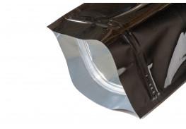 Упаковочные зип пакеты дой пак Forceberg HOME&DIY с замком zip-lock 22х30 см, черный, 4 шт
