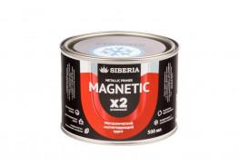 Магнитная краска Siberia 0,5 литра, на 1 м²