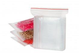 Упаковочные герметичные зип пакеты Forceberg HOME&DIY с замком zip-lock 12х17 см, прозрачные, 100 шт